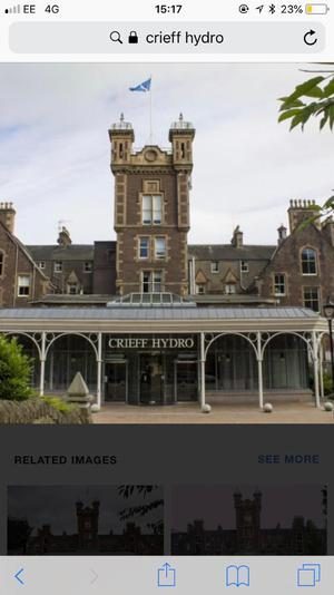 Crieff Hydro Lodge Holiday for Sale