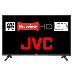 """JVC LT-32C"""" LED TV HD Ready 720p Freeview HD With DTS"""