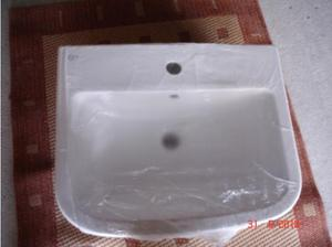 Ceramic Wash Hand Basin Large White in Swansea