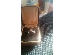 9ct gold diamond ring in Chatteris
