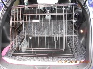 Ellie-Bow Deluxe Sloping Puppy Crate suitable for most