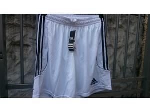 Mens white adidas shorts size large new in Swansea