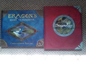 Books: Eragon guide to alagaesia and Dragonology the complete book of dragons
