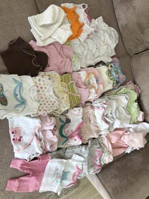 0-3 month old girls clothes bundle
