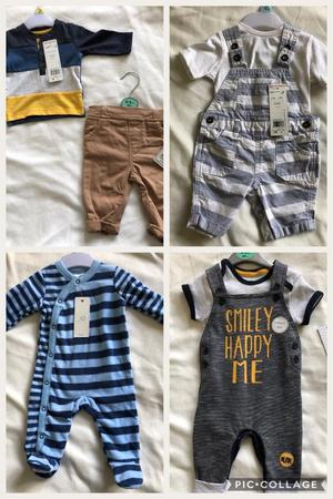 Baby Boy Clothes Bundle New With Tags