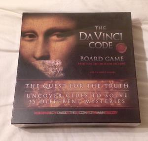Da Vinci Code Board Game Quest for the Truth. New and Sealed. 2-6 Players.