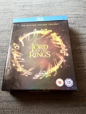Lord of the Rings Blu-ray theatrical edition trilogy box set