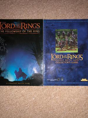 Lord of the Rings Strategy Game Books - Warhammer