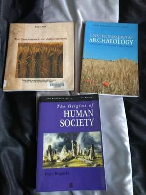 Archaeological science books