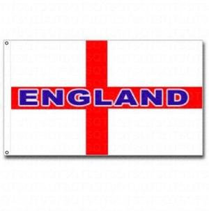 ENGLAND CAR FLAG Window World Cup  Football Supporters St George Cross