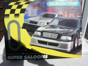 """SCALEXTRIC SET C """"SUPER SALOONS"""":Toys R Us"""" only"""