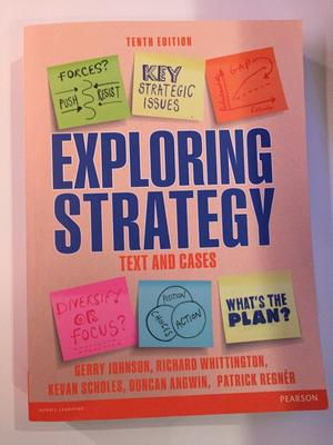 Exploring Strategy Text & Cases (Paperback)