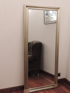Silver Tall Mirror (Delivery)