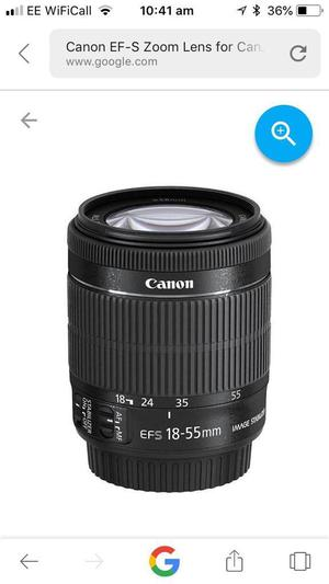 Canon eos zoom lens Ed's mm mm