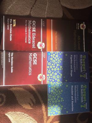 CGP MATHS BOOK BUNDLE