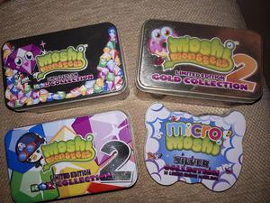 Moshi Monsters four tin sets