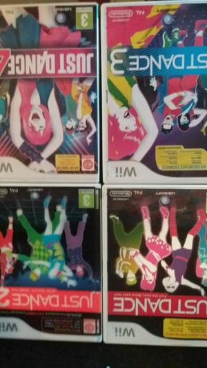 4 just dance wii games