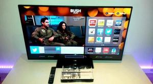 "Bush 32"" Smart WiFi Led tv Freeview Hdmi Youtube Netflix BbC Itv Excellent condition"