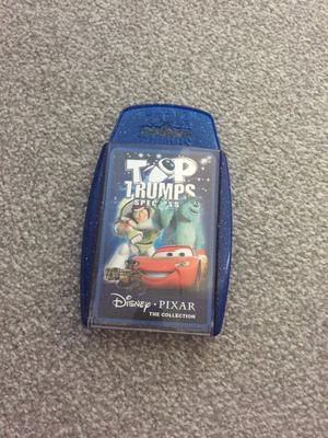 Disney Pixar Top Trumps Card Game