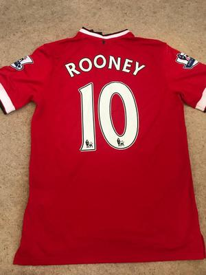 Wayne Rooney Name and Number Manchester United Shirt Brand New With Tags