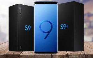 NEW Sealed Samsung Galaxy S9 & Plus 256gb 128gb 64gb Midnight Black, Blue, Lilac purple - Unlocked