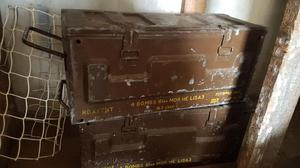 Two Old Army Boxes