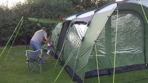 Outwell 6 Berth family tent in very good condition.