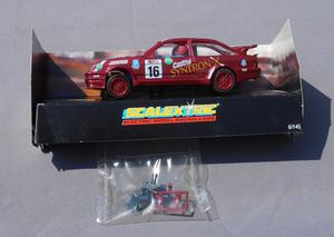 """SCALEXTRIC Hard to Find FORD SIERRA RS COSWORTH """"SYNTRON X"""""""