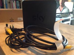 Sky wi Fi hub + Ethernet cable