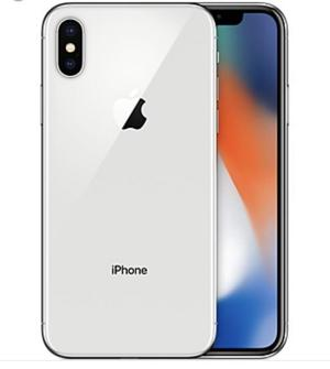 iPhone X 64gb in silver locked to Vodafone