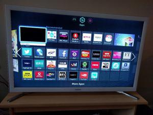 "Samsung 32"" Smart Wifi Led tv with Freeview Hdmi youtube netflix bbc itv excellent condition"