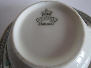 Aynsley china cup & saucer IMMACULATE