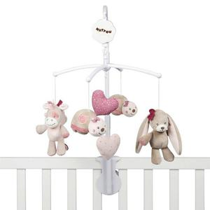 Nattou Cot Mobile Nina, Jade & Lily Collection