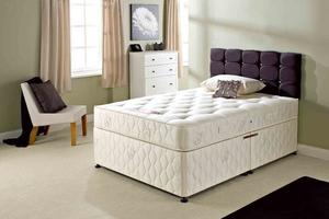 ***Super Orthopedic Set** Brand New Double or King Divan Base With Super Orthopedic Mattress