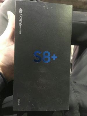 NEW Sealed Samsung Galaxy S8 64gb & Plus Midnight Black, Coral Blue, Silver & Orchid Gray - Unlocked