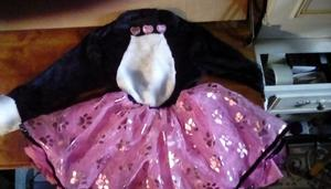 BABY GIRLS PARTY DRESS 1-2
