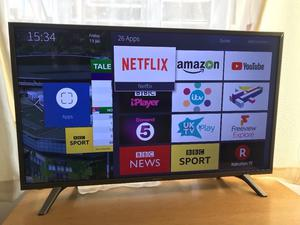 """Few months old.New condition. Hisense 43"""" 4K ultra hd smart led hdr tv. £270 NO OFFERS. CAN DELIVER"""