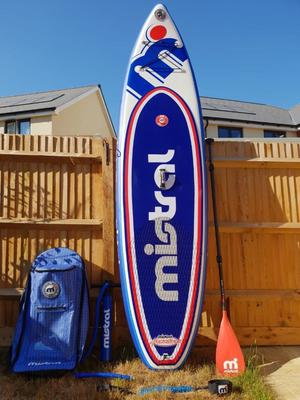 Mistral iSUP Inflatable Stand Up Paddle Board 10'5 (Adventure Heritage)