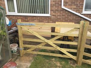 TWO 6ft FIELD GATES PLUS TOTAL SET UP BRAND NEW