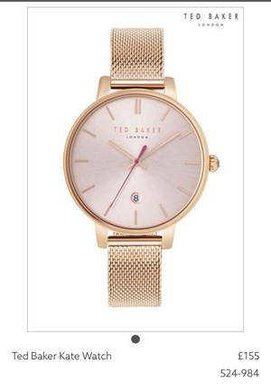 Brand New Ladies Ted Baker Kate Watch RRP £155