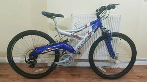 "Mens 26"" salcano downhill dual suspension mountain bike in excellent condition"