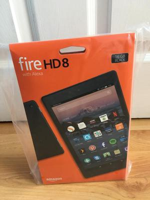 Amazon fire HD 8 inch Tablet 16 gb Black *BRAND NEW SEALED BOX*