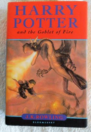 Harry Potter & The Goblet of Fire, JK Rowling (Hard Back First Edition: Bloomsberry, .)