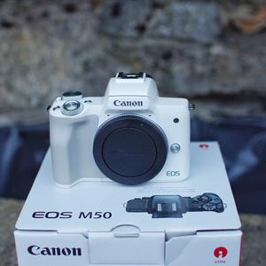 Canon m50 body and Canon EF Lens Adaptor as new