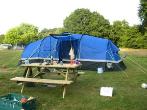 6 Berth Family Tent - Excellent Condition