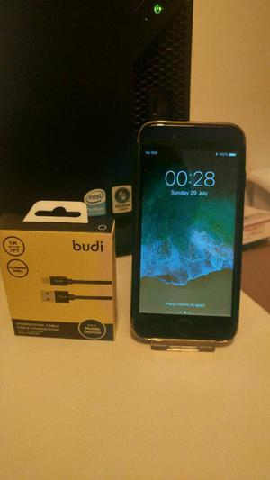 Apple iPhone 6 Space Grey 16GB Vodafone + Case + Cable