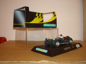 SCALEXTRIC C NOS LOTUS 7 'GREEN' CAR - MINT, BOXED -NOT