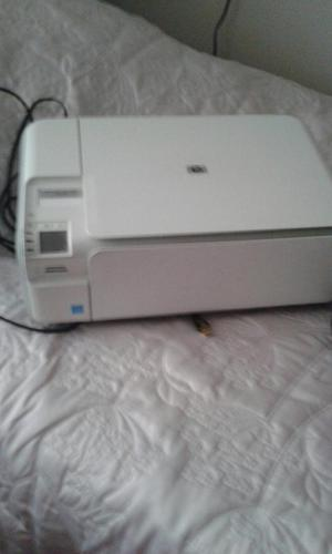Hewett Packard all in one photosmart C printer scanner copier