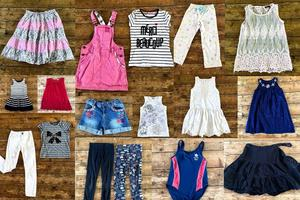Bundle of clothes for girl 8 to 10 years