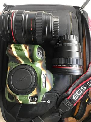 Canon 5D mark iv + canon EF mm f4 + 24mm f1.4